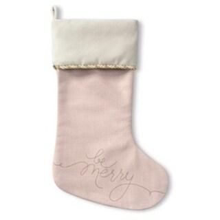 Kavka Designs Be Merry Holiday Stocking