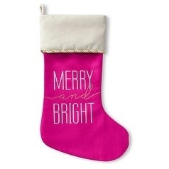 Kavka Designs Merry And Bright Holiday Stocking