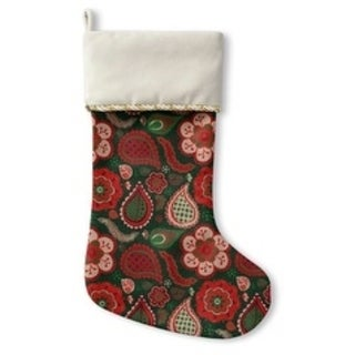 Kavka Designs Boho Holiday Stocking