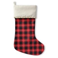 Kavka Designs Holiday In Plaid Holiday Stocking