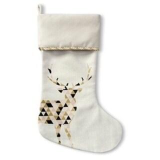 Kavka Designs Holiday Deer Holiday Stocking