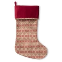 Kavka Designs Holiday In Red Holiday Stocking