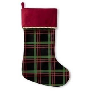 Kavka Designs Holiday Plaid Holiday Stocking
