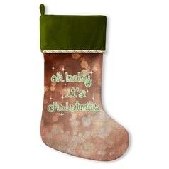 Kavka Designs Oh Baby It's Holiday Stocking (Green/Orange...