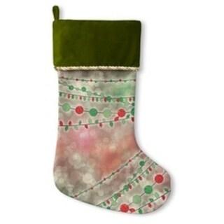 Kavka Designs Holiday Lights Holiday Stocking