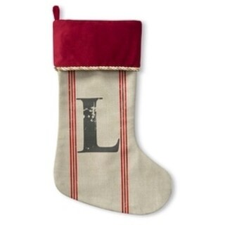 Kavka Designs L Noel Holiday Stocking
