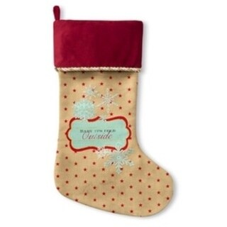 Kavka Designs Baby It's Cold Outside Holiday Stocking