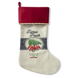Kavka Designs Farm Fresh Holiday Stocking