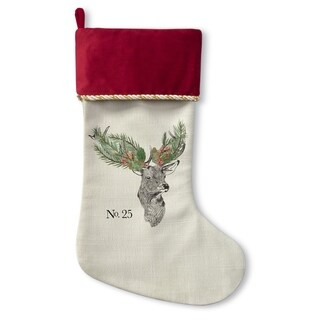 Kavka Designs Christmas Deer Holiday Stocking