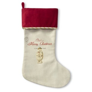 Kavka Designs Snow Man Holiday Stocking