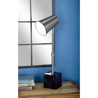 Studio 350 Set of 2, Metal Task Lamp 9 inches wide, 24 inches high