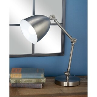 Set of 2 Contemporary Metal Task Lamp by Studio 350