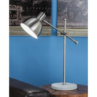 Studio 350 Metal Cement Task Lamp 20 inches wide, 25 inches high