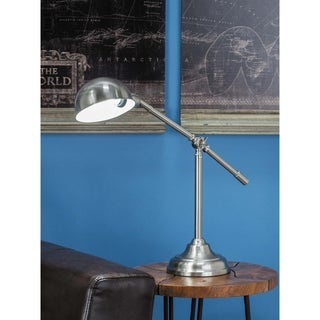 Studio 350 Set of 2, Metal Task Lamp 24 inches wide, 21 inches high
