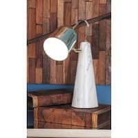 Studio 350 Set of 2, Metal Ceramic Task Lamp 9 inches wide, 15 inches high