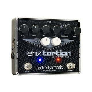 Electro-Harmonix - EHXTortion JFET Overdrive Guitar Effects Pedal