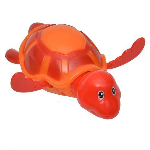 Funny Wind Up Swimmer Turtle Bathtub Baby Toy - 8 L x 6 W x 3 H