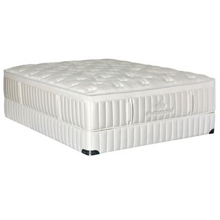 Kingsdown Vintage Immix 16-inch Queen Plush Luxury Mattress Set with Split Boxes