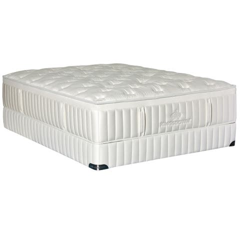 Kingsdown Vintage Melange 15-inch Luxury Mattress Set