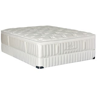 Kingsdown Vintage Melange 15-inch Queen Plush Luxury Mattress Set