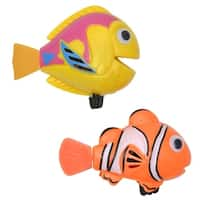 Evideco Funny Wind Up Swimmers Clown Fish Bathtub Baby Toy Set of 2