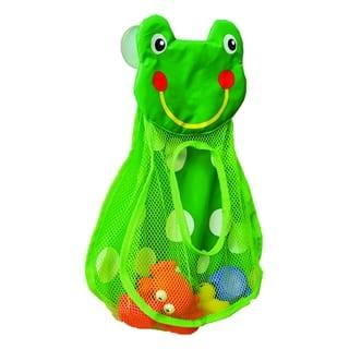 Evideco Bath Tub Toys Organizer FROG HEAD -Suction Cups Green|https://ak1.ostkcdn.com/images/products/17615196/P23831414.jpg?impolicy=medium
