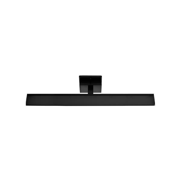 Black Finish Bathroom Lighting: Shop Eglo Tabiano Integraded LED Vanity Light With Matte