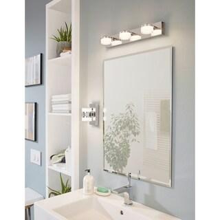 Eglo Romendo Integrated LED Wall Light with Chrome Finish