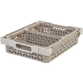 IRIS Decorative Basket Combination, 3 Pack