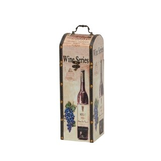 Decorative Wine Caddy Gift Box Decor