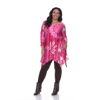 White Mark Plus Size 'Bena' Tunic