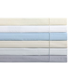 Charisma 310 Thread Count Cotton Classic Stripe Pillowcase Pair
