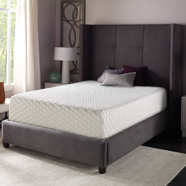 shop beautyrest 12 inch gel memory foam mattress in a box on sale free shipping today. Black Bedroom Furniture Sets. Home Design Ideas