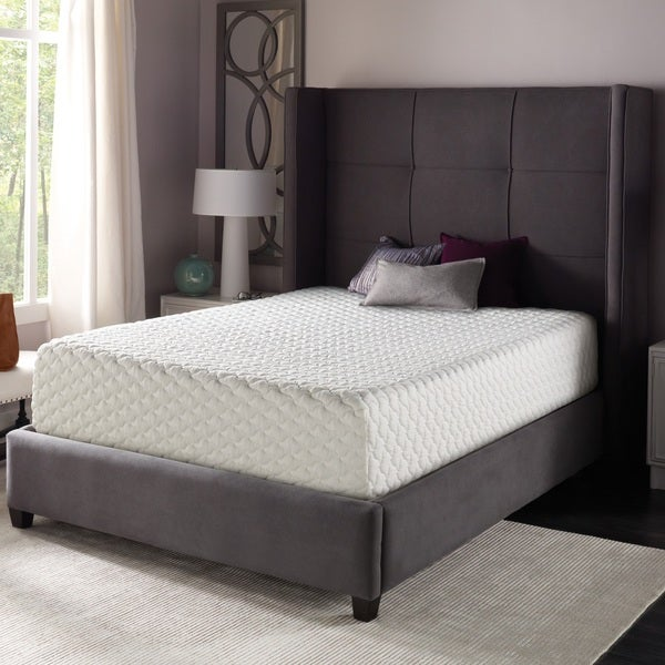 Shop Beautyrest 12 Inch Gel Memory Foam Mattress In A Box