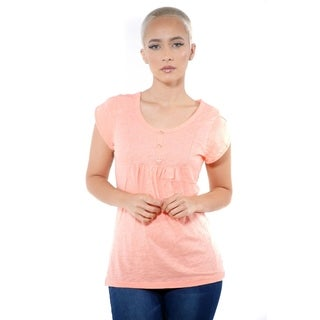 Ladies Short Sleeve Cap Sleeve Tops