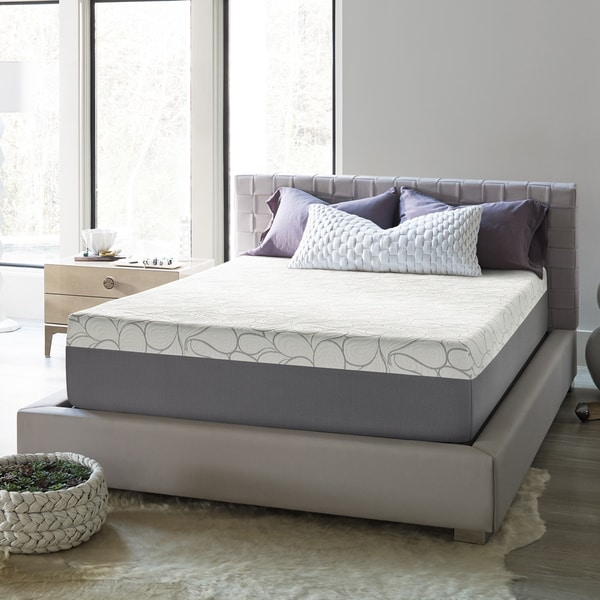 Beautyrest 14-inch Gel Memory Foam Mattress in a Box. Opens flyout.