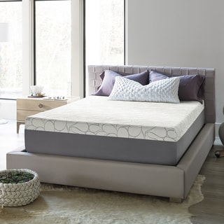 beautyrest 14inch kingsize gel memory foam mattress in a box