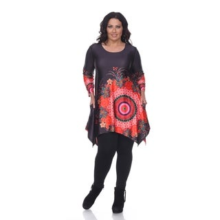 White Mark Plus Size 'Fidelia' Tunic