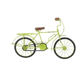 Copper Grove Hidden Springs Metal Wood Green Bicycle