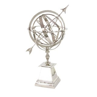 Studio 350 Aluminum Armilary Sphere 21 inches wide, 36 inches high