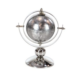 Studio 350 Stainless Steel PVC Globe 6 inches wide, 9 inches high