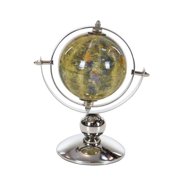 Copper Grove Lupinus Stainless Steel Pvc Multicolored Globe