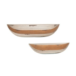 Studio 350 Wood Wall Shelf Set of 2, 31 inches, 38 inches wide