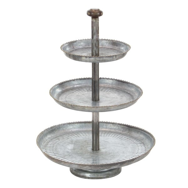 The Gray Barn Coconut Grove 3-tier Cake Stand