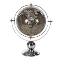 Studio 350 Stainless Steel PVC Globe 6 inches wide, 11 inches high