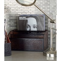Studio 350 Metal Letter Holder 12 inches wide, 6 inches high