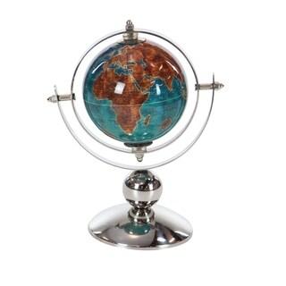 Laurel Creek Hattie Stainless Steel PVC Blue/Brown Globe