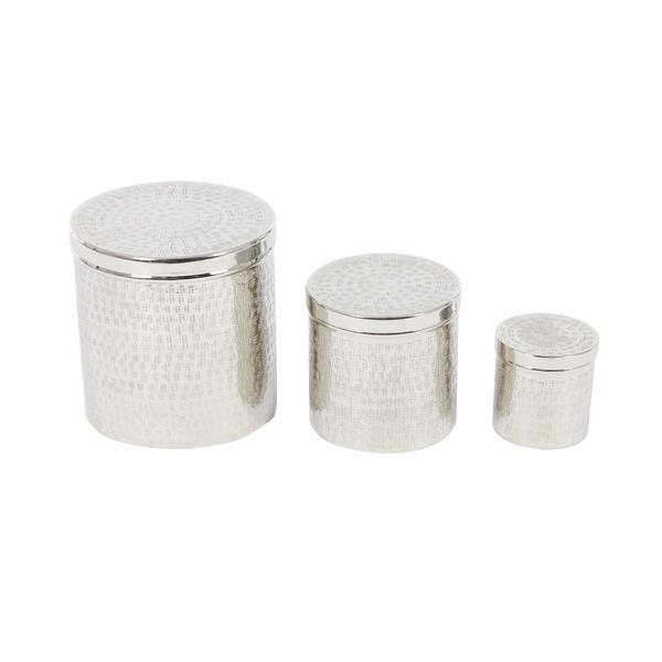 Oliver & James Buri Aluminum Storage Canisters (Set of 3)