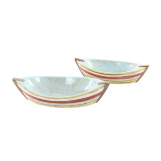 Copper Grove Sharbot 2-piece Ceramic Boat Set