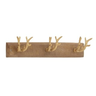 Studio 350 Aluminum Wood Wall Hook 24 inches wide, 5 inches high